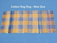 Best designed cotton rag rugs manufactured in wholesale from our processing units in erode in India.