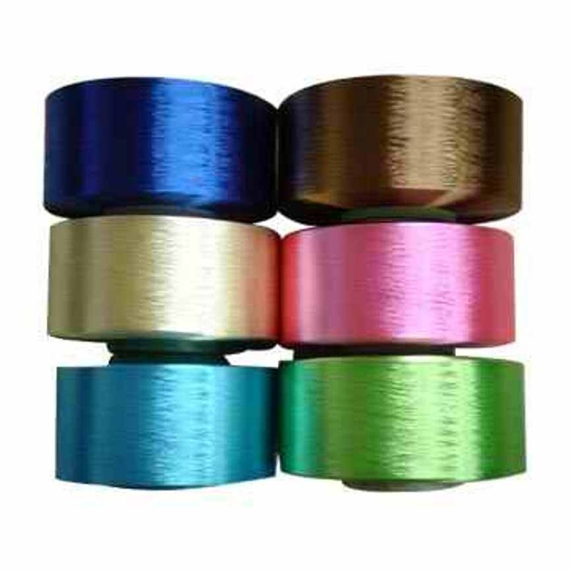 Suppliers agents of wholesale polyester dyed yarn from our yarn mills in coimbatore in tamilnadu in India.