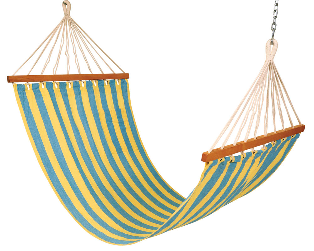Manufacturers suppliers of hammocks in wholesale including hammock stands and chairs from our factories in chennai in India.