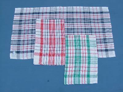Best quality cotton tea dish towel manufactured and supplied in wholesale from our factories in madurai in India.