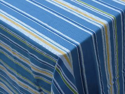 Manufacturers of striped tablecloth and sanitary napkins using best quality yarn from our factories based in erode in India.