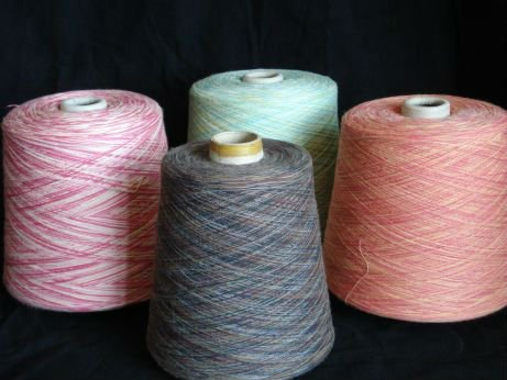 Manufacturers suppliers of best quality space dyed yarn from our yarn mills based in tirupur in India.