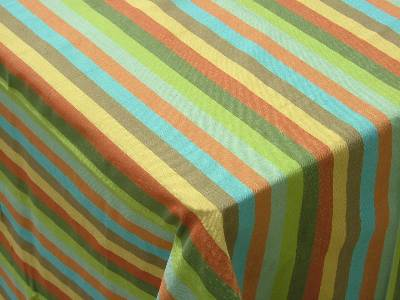 Wholesalers of striped cotton table linen manufactured supplied from our factories based in tamilnadu in India.