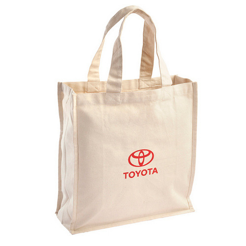 PictureWholesale manufacturers of printed dyed calico bags with gusset made in varieties of cotton cloth including organic cotton cloth.