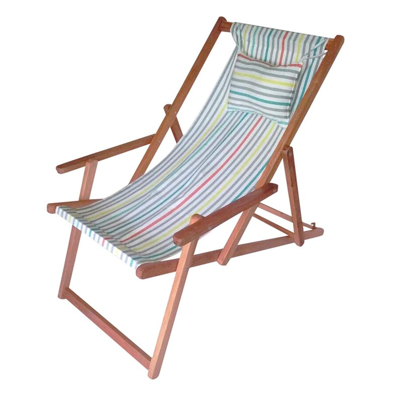 We only use the best canvas fabric and best wood to make beach chair in wholesale from our factories in india.